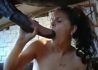Fucked by a horses dagger